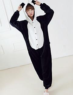 baratos Pijamas Femininos-Mulheres Com Capuz Corpete Pijamas Retalhos