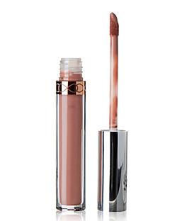 billiga Läppar-Sminkredskap Kaki Läppglans 1 pcs Torr / Fuktig / Kombination Glitterläppglans / Färgat glans / Fukt Naturlig Smink Kosmetisk Dagligen Skötselprodukter