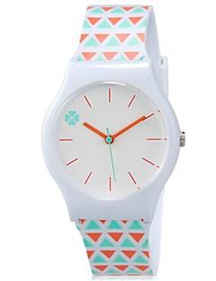 billige Børneure-Quartz Armbåndsur Farverig Plastik Bånd Slik Afslappet Sej Orange