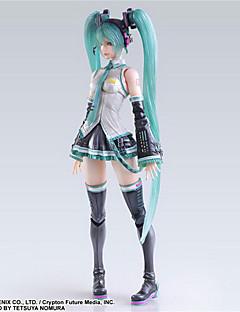 billige Anime cosplay-Anime Action Figurer Inspirert av Vokaloid Hatsune Miku PVC 25 CM Modell Leker Dukke