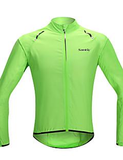 SANTIC Veste de Cyclisme Homme Femme Unisexe Vélo Veste Imperméable/Poncho Vêtement Pour Se Protéger du Soleil Etanche Séchage rapide