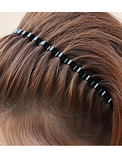 Women's Alloy Hair Comb,Casual Jewelry All Seasons Black
