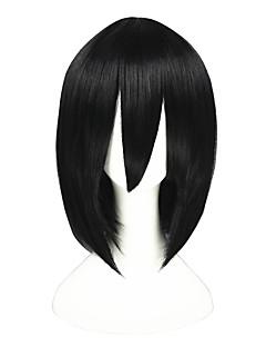 billige Anime cosplay-Cosplay Parykker Helmetall Alkemist Akari Anime Cosplay-parykker 35cm CM Varmeresistent Fiber Herre Dame