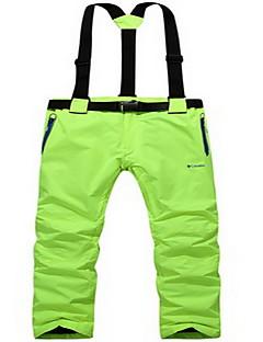 Homens Mulheres Térmico/Quente A Prova de Vento Confortável Filtro Solar Calças para Esportes Relaxantes Snowboard Corrida Tactel Solto