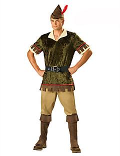 Soldat/Kriger karriere Kostymer Cosplay Kostumer Party-kostyme Maskerade Mann Festival/høytid Halloween-kostymer Grønn Halloween Jul