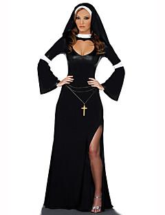 carrière Kostuums Cosplay Kostuums Feestkostuum Vrouwelijk Halloween Kerstmis Festival/Feestdagen Halloweenkostuums Zwart Print