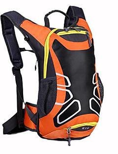 20 L バックパッキング用バックパック サイクリングバックパック バックパック 登山 レジャースポーツ サイクリング/バイク キャンピング&ハイキング 防水 高通気性 耐衝撃性の ナイロン