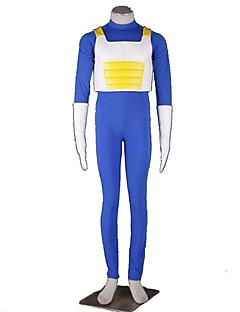 """billige Anime Kostymer-Inspirert av Dragon Ball Cosplay Anime  """"Cosplay-kostymer"""" Cosplay Klær Ensfarget Vest / Trikot / Heldraktskostymer / Hansker Til Halloween-kostymer"""