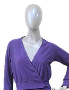 女の子と女性のエレガントなスタイルのための綿/ライクラバレエラップ色