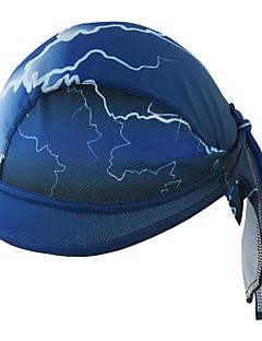 Xintown helm liner cap koelskin schedel cap zweetband voor fietsen zwemmen klimmen mannen vrouwen fiets pet - blauw