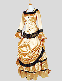 Medieval Victorian Costume Womenu0027s Outfits Vintage Cosplay Charmeuse Long Sleeves Poet Asymmetrical & Cheap Historical u0026 Vintage Costumes Online | Historical u0026 Vintage ...