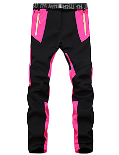 Women's Softshell Pants Waterproof Thermal / Warm Quick Dry Windproof Ultraviolet Resistant Insulated Anti-Eradiation Breathable for
