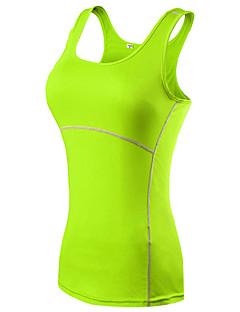 billige Løbetøj-Dame Løbesinglet - Rød, Grøn, Blå Sport Tank Tops / Toppe Yoga, Træning & Fitness, Løb Hurtigtørrende, Åndbart, Reducerer gnavesår