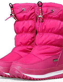 billiga Vandringsstövlar till snöföre-Barn Flickor Unisex Pojkar Vinterkängor Komocka Läder Nylon Skidåkning Utför Anti-halk Vattentät Höjd-ökande Vinter