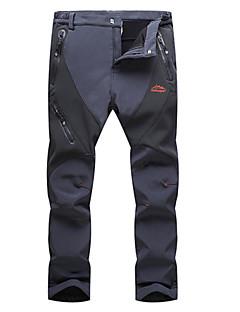 tanie Odzież turystyczna-Męskie Turistické kalhoty Na wolnym powietrzu Wodoodporny Keep Warm Wiatroodporna Izolacja Rain-Proof Zdatny do noszenia Oddychający