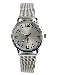 Women's Fashion Watch Quartz / Stainless Steel Band Casual Silver Brand Strap Watch