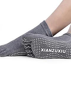 cheap Fitness Clothing-Men's Toe Socks Socks Anti-skidding/Non-Skid/Antiskid Sweat-wicking for Yoga