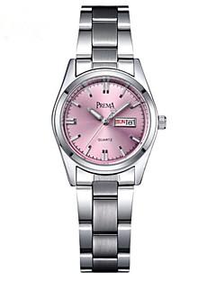 billige Modeure-Dame Armbåndsur Quartz Sølv 30 m Afslappet Ur Analog Damer Afslappet Mode - Hvid Blå Lys pink / Rustfrit stål