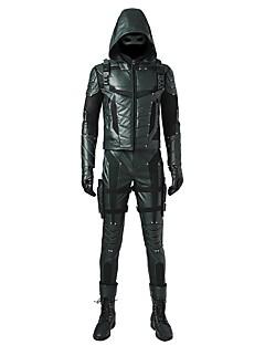 billige -Superhelter Cosplay Cosplay Kostumer Maskerade Party-kostyme Halloween Utstyr Film-Cosplay Frakk Topp Bukser Hansker Maske Mer Tilbehør