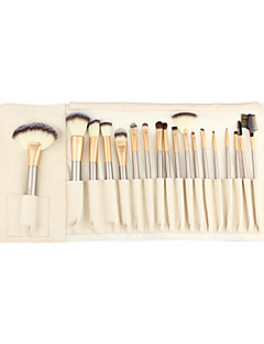 cheap Makeup Brushes-18pcs Professional Makeup Brushes Contour Brush / Foundation Brush / Fan Brush Synthetic Hair Portable / Travel / Eco-friendly Wood Eye /