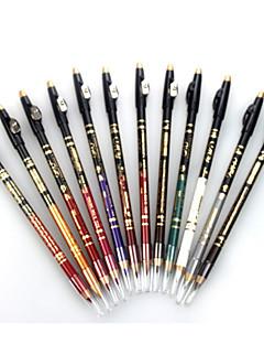 אייליינר עפרון יבש ברק צבעוני מחזיק לאורך זמן טבעי עיניים שפתיים