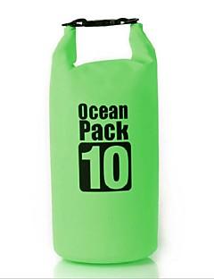 10 L Compression Pack Vízálló zsák Vízálló Dry Bag Vízálló Gyors szárítás Párásodás gátló Lebegő Púdertartó Többfunkciós Telefon/Iphone