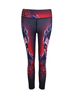 Femme Leggings de Sport Collants de Course Couche de Base Séchage rapide Respirable Doux Lisse Confortable Bas Yoga Exercice & Fitness
