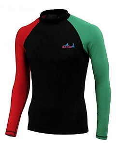 BlueDive® Női Férfi Gyermek Nedves ruhák Dive Skins Szörfruha felső Gyors szárítás Ultraibolya biztos Varrat nélküli Kényelmes Fényvédő