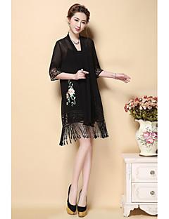 ieftine AINIER-Pentru femei Club Bluză - Floral, Rochii În V