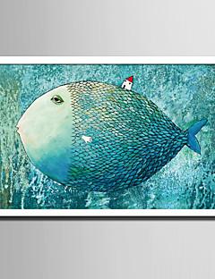 voordelige Ingelijste kunst: dieren-Ingelijst canvas Ingelijste set Dieren Fantasie Muurkunst, PVC Materiaal Met frame Huisdecoratie Ingelijste kunst Woonkamer Slaapkamer