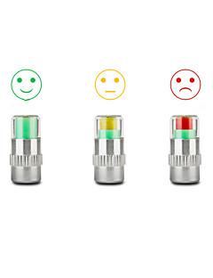 billige Dekk, Slanger & Hjulsett-4 dekk trykkmonitor indikator ventilstammen hetten sensor øye varsel
