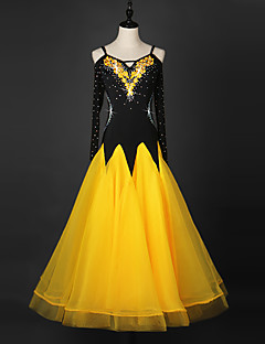 me seuratanssi Mekot Naisten suorituskykyä organza mekko