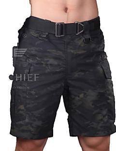 baratos Roupas de Caça-Bremuda Shorts Homens Prova-de-Água / A Prova de Vento / Respirável Clássico Shorts / Calças para Caça / Esportes Relaxantes