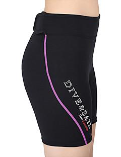 Unisex 1.5mm Våtdrakt - shorts Fort Tørring Anatomisk design Pustende Neopren Dykkerdrakt Shorts-Svømming Dykking Sommer Klassisk