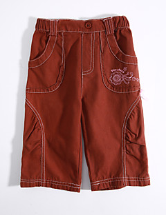 Baby Casual/Daily Solid Pants,Cotton Spring Fall