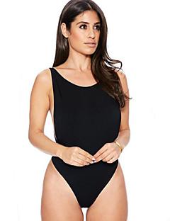 Kvinner Blomstret Sport Retro Stropper Bikinikjole Polyester