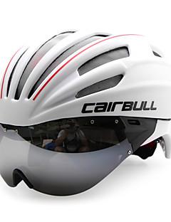 billiga Cykling-CAIRBULL Vuxen cykelhjälm 28 Ventiler CE / CE EN 1077 Certifiering Stöttålig, Lättvikt, Justerbar passform EPS, PC Vägcykling / Rekreation Cykling / Cykling / Cykel - Vit Herr / Dam
