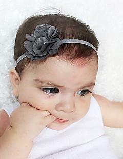billige Babytøj-Unisex Hår Tilbehør Alle årstider - Bomuld Nylon - Bandanaer - Grå Lilla Gul Rosa Kakifarvet