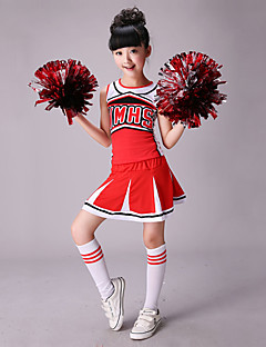 Cheerleader Costumes Outfits Performance Cotton / Spandex Splicing Sleeveless High Top / Skirt  sc 1 st  LightInTheBox & Cheap Cheerleader Costumes Online | Cheerleader Costumes for 2018