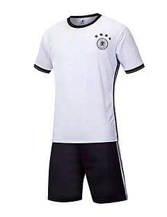 Unisexe Football Ensemble de Vêtements/Tenus Respirable Vestimentaire Confortable Printemps Eté Automne Couleur Pleine FootballRouge /