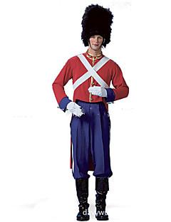 Soldat/Kriger Cosplay uniformer karriere Kostymer Cosplay Kostumer Maskerade Mann Halloween Karneval Festival / høytid Halloween-kostymer