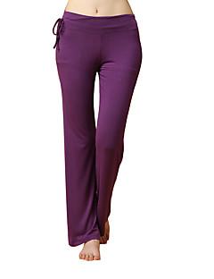 女性用 ランニングパンツ 高通気性 モイスチャーコントロール 快適 パンツ ヨガ エクササイズ&フィットネス レジャースポーツ ランニング モーダル エラステイン パープル S M L XL XXL