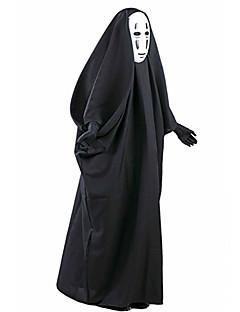 Costumes de Cosplay Ange et Diable Cosplay de Film Noir Manteau Masque Halloween Noël Nouvel an Masculin
