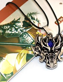 Mer Tilbehør Inspirert av Another Chyouun Shiryuu Anime / Videospill Cosplay-tilbehør Halskjede Gul Gull Sølv Legering