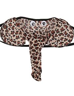 billige Herremote og klær-Mann Ultrasexy truse Tynn-Leopard Bomullsblanding 1pc Brun Svart Rød