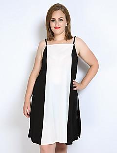 cheap Women's Tops-Really Love Women's Club Plus Size Tank Top - Color Block Patchwork Split Strap