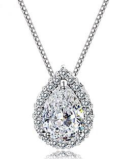 ieftine -Pentru femei Coliere cu Pandativ Bijuterii Round Shape Bijuterii Cristal Aliaj Design Unic Modă Euramerican Bijuterii Pentru Nuntă