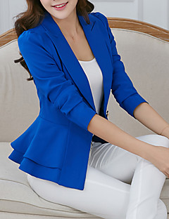 cheap Women's Blazers & Jackets-Women's Work Jacket - Solid, Ruffle