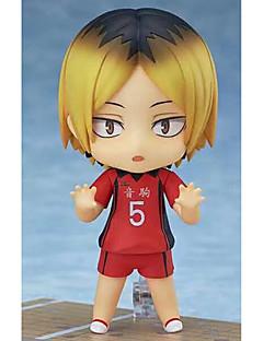 billige Anime cosplay-Anime Action Figurer Inspirert av Haikyuu Kozumekenma PVC 10cm CM Modell Leker Dukke Herre Dame