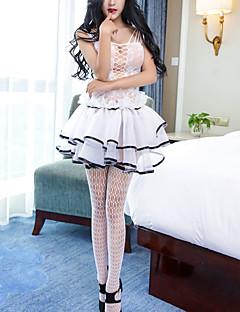 preiswerte -Damen Sexy Besonders sexy Babydoll & slips Nachtwäsche Voiles und Sheers